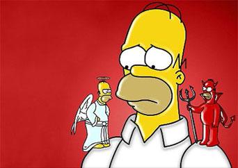 'Los Simpson' se ve también en el Vaticano