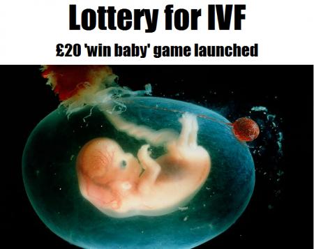 Lotería regala tratamiento de fecundación in vitro