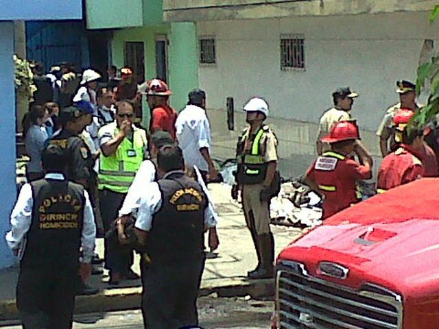 Incendio en centro de rehabilitación de Lima deja al menos 22 muertos