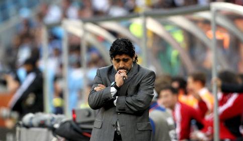Maradona: Esto es lo más duro que me tocó vivir, no tengo fuerzas para nada
