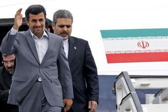 Presidente Iraní arribó al país para reunión bilateral