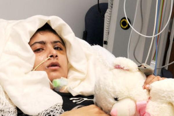 '¿Dónde estoy?', primeras palabras de la joven activista Malala en el hospital
