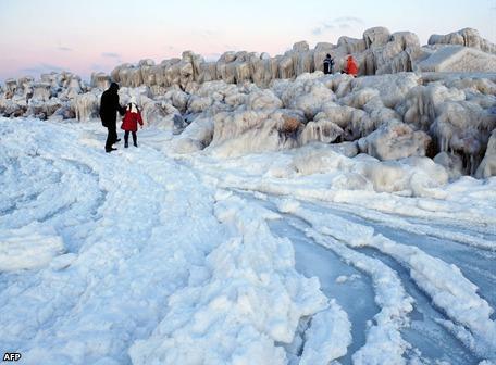Europa y Asia 'congeladas' por temporal