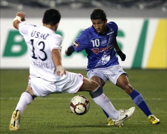 1-0 ganó Emelec a U. de San Martín