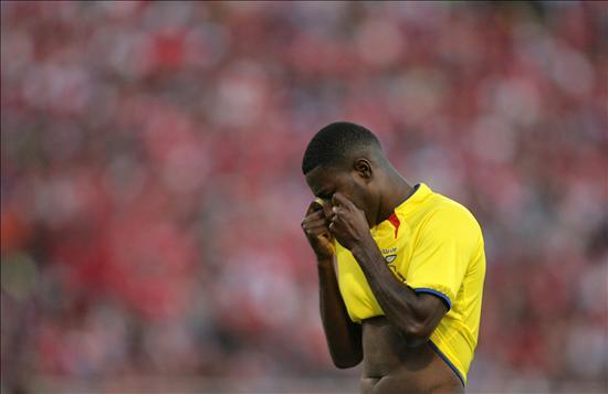 Ecuador pierde 1-0 se queda sin ir al Mundial