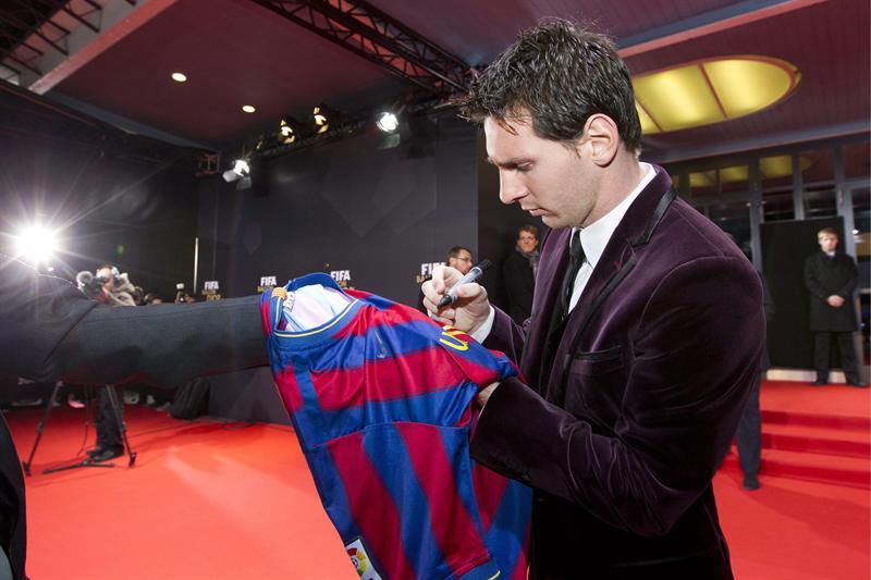 Messi se corona como el mejor futbolista del mundo