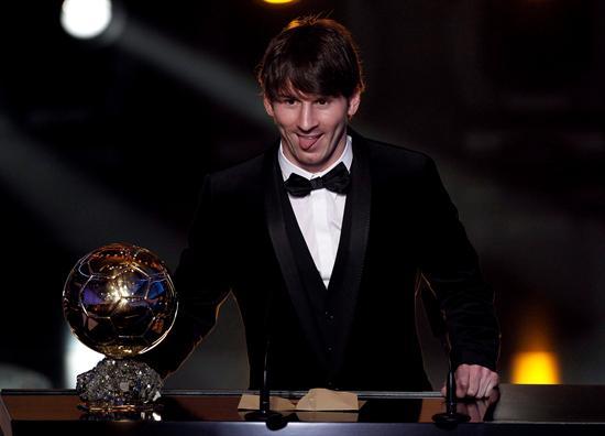 Messi, Balón de Oro por segundo año consecutivo