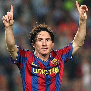 Messi podría ser el 'Mejor Jugador en Europa'