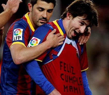 Messi sancionado por desear feliz cumpleaños a su madre