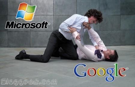 Microsoft y Google comienzan una guerra