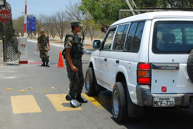 Manta militarizada tras estado de excepción