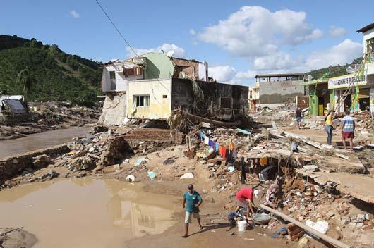 Desaparecidos por lluvias en Brasil podrían ser 1.000