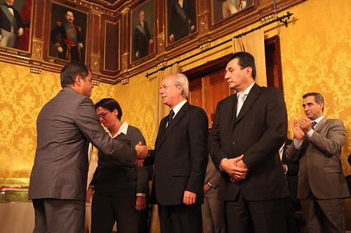 Cuatro nuevos ministros fueron posesionados