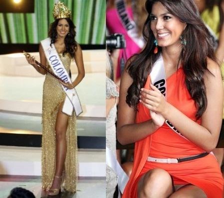 f5979a151c2a Revuelo: Miss Colombia es fotografiada sin ropa interior | El Diario ...