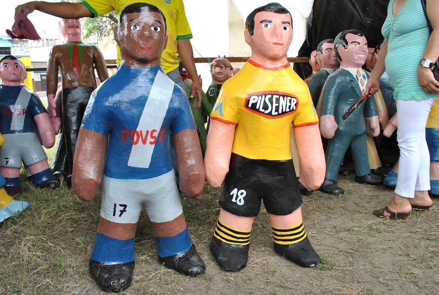 El fútbol ecuatoriano también se quema en el 2010