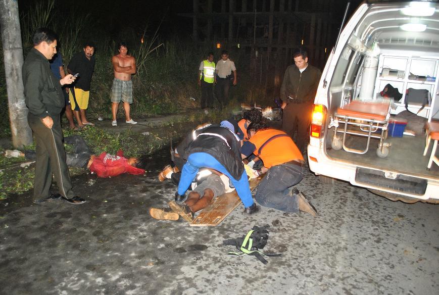 Accidente en moto deja un muerto en Río Verde