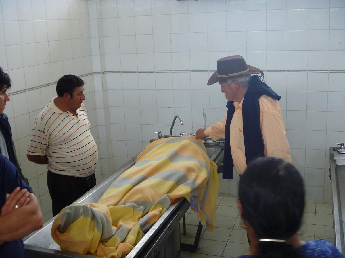 Cadáver permaneció tres días en la clínica