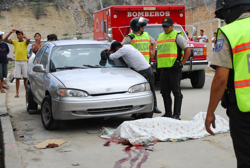 Asesinan a balas a taxista en barrio 5 de Junio