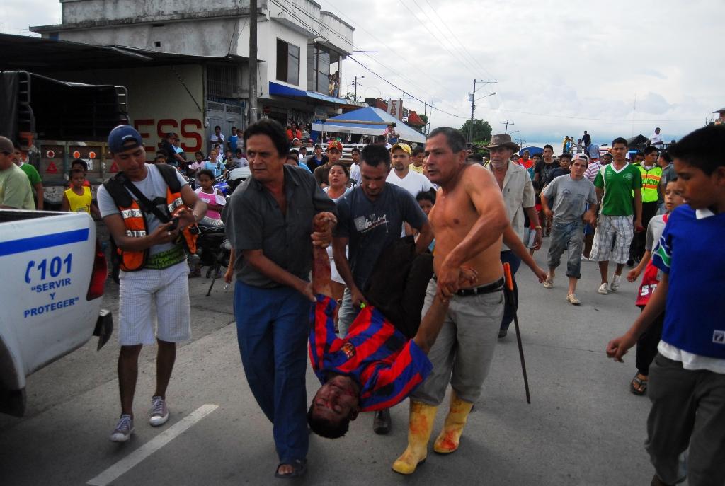 Sicarios en moto asesinan a hombre de 49 a�os | El Diario Ecuador
