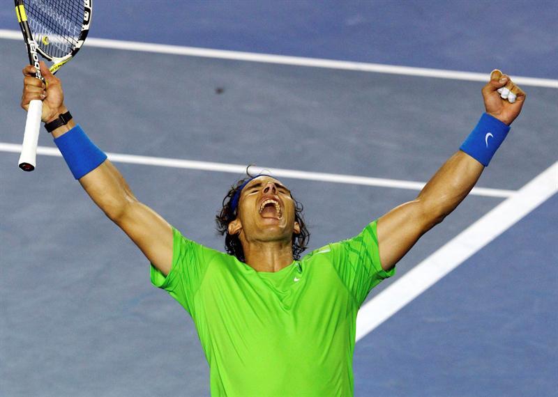 Nadal vence y se verá en las semifinales con Federer