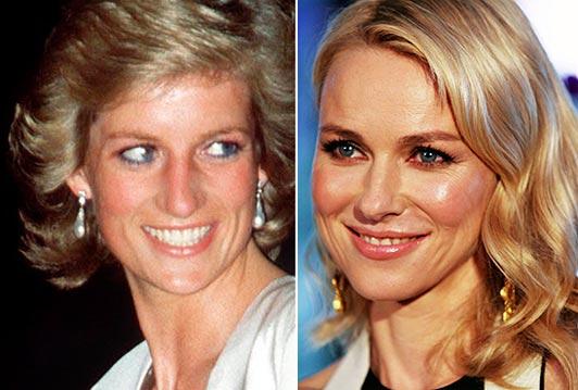 Naomi Watts dará vida a la princesa Diana en la gran pantalla