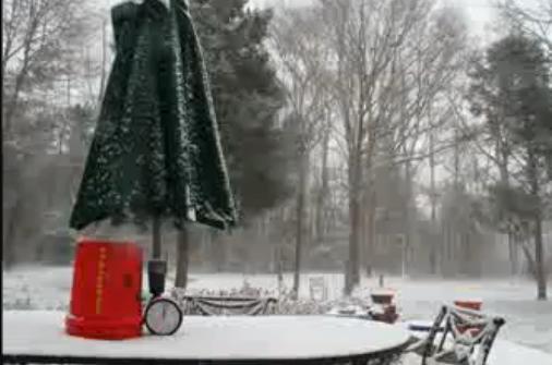 Fotógrafo capta una nevada de 20 horas en 30 segundos