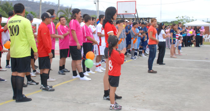Medios Ediasa inauguró sus juegos deportivos