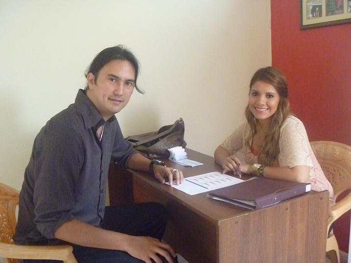 Johanna y José Daniel, juntos en lo laboral