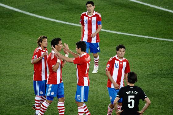 Paraguay clasifica como líder del grupo F