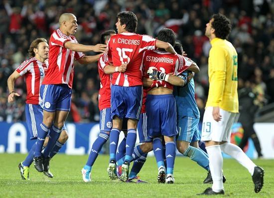 Paraguay le gana a Brasil y ya cobija el sueño de campeonar