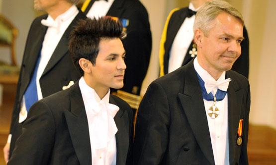Ecuatoriano casado con presidenciable de Finlandia