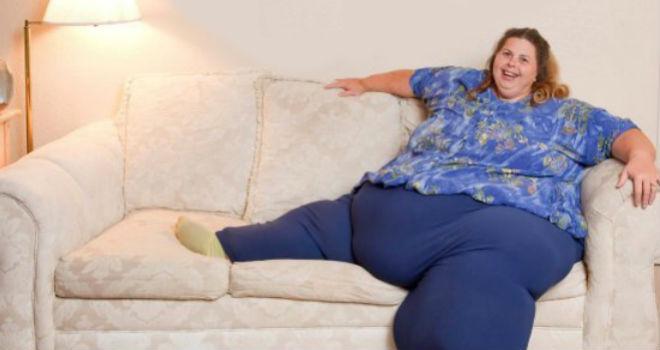 La mujer más obesa del mundo tiene sexo para bajar de peso