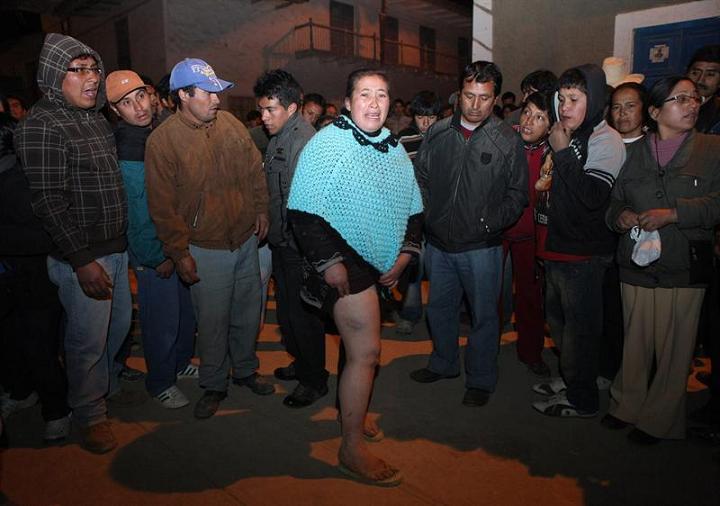 Protestas en Cajamarca, Perú, dejan cinco muertos