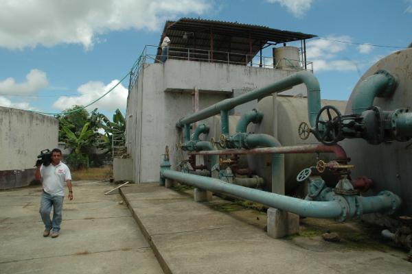 19 afectados por escape de cloro gas en Chone