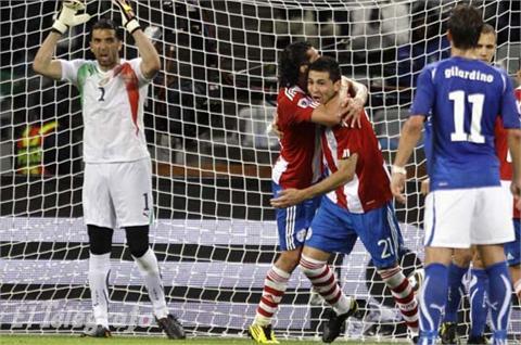 Italia empató con Paraguay 1-1