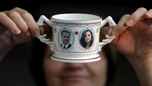 Porcelana china para el banquete de la boda real