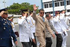 Correa destacó gestión de la Armada al frente de Petroecuador