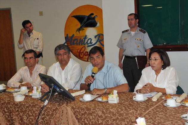 Alcaldes y prefectos respaldan paso de la CRM a la Senagua