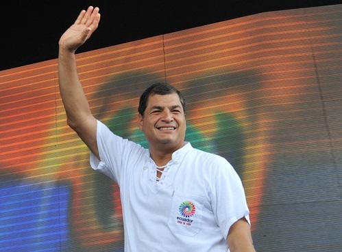 Correa habla de los derechos Humanos y cambios en la función Ejecutiva