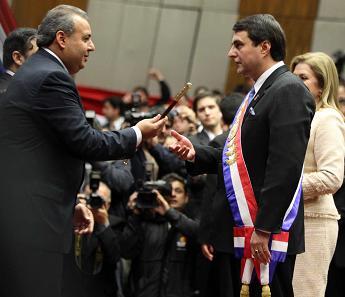 Paraguay tiene nuevo presidente tras destitución de Lugo