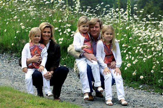 Príncipes de Holanda pasarán la Navidad en Argentina