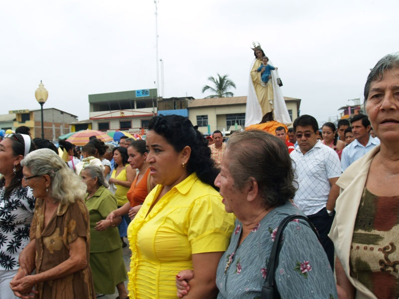 Rocafuerte celebra sus fiestas patronales