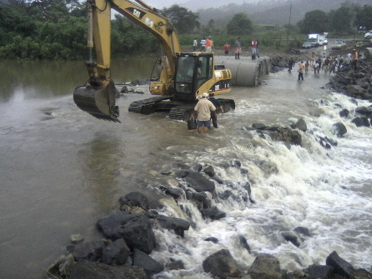 Traerán de Riobamba el puente sobre el río Coaque