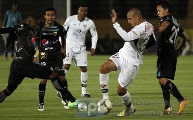 0-0 terminó partido Deportivo Quito y Liga de Quito