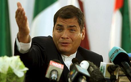 Oficialismo decidirá si Correa irá a la reelección