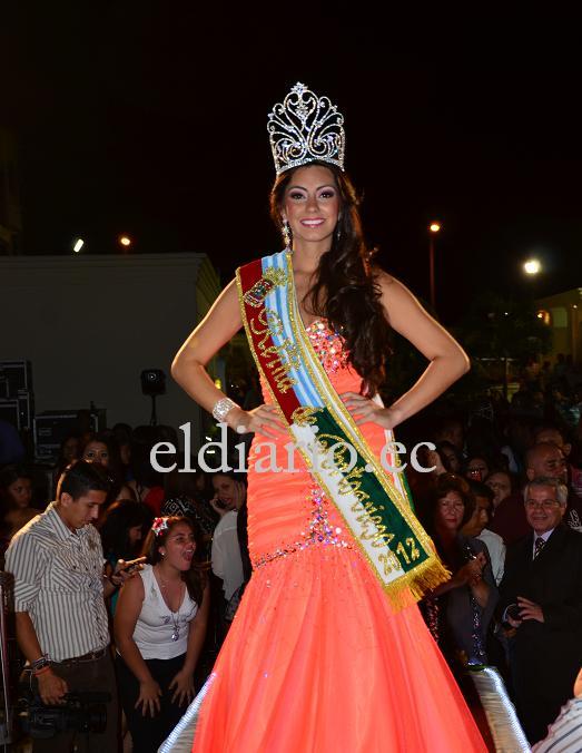 Virginia Limongi es la nueva Reina de Portoviejo