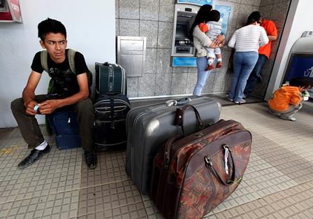 La visita de inmigrantes que se espera cada año