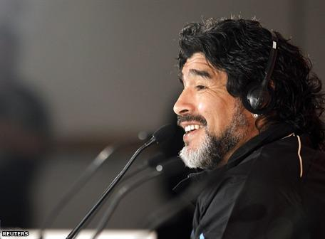 Maradona dice que Ecuador debería jugar el Mundial