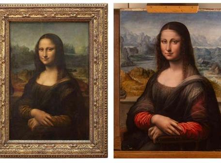 Hay una 'gemela' de la Mona Lisa en España