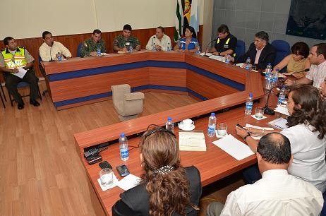 Consejo de seguridad en sesión permanente